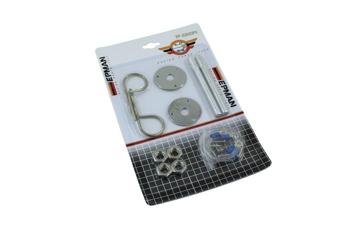 Zapinki maski Hair Pin Silver - GRUBYGARAGE - Sklep Tuningowy